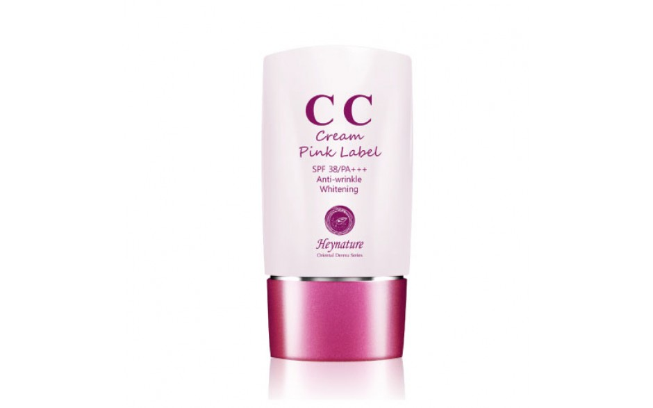Hey Nature CC Cream Pink Label SPF38/PA+++