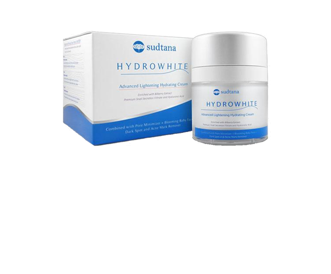 ครีมบำรุงผิวหน้า Sudtana Hydrowhite Advanced Lightening Hydration Cream 50g.
