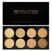 MUR คอนซีลเลอร์ Ultra Cover and Conceal Palette-Light - Medium
